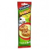 Vitakraft Donuts králík - mrkev 28 g, 4 ks